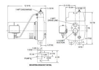 Deep Well Jet Pump Installation Diagram, Deep, Free Engine