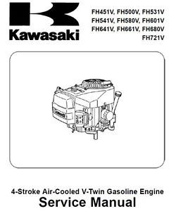 Kawasaki 24HP Engine FX691V CS04 Motor for Dixie Chopper