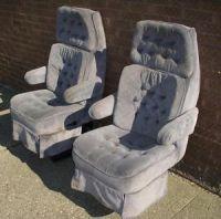 1999 2010 Ford F250 F350 F450 Front Seats Stone Gray Cloth ...
