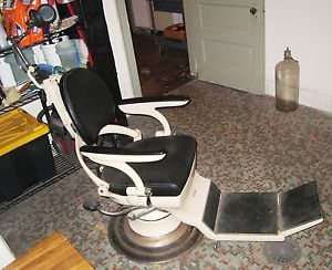 vintage dentist chair bright starts baby swing pink antique hydraulic dental complete and works