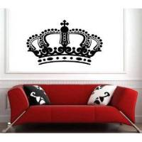 King Headboard Vinyl Wall Art Decals Stickers h6