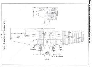 Boeing 314 Clipper Flying Boat Maintenace Manual RARE