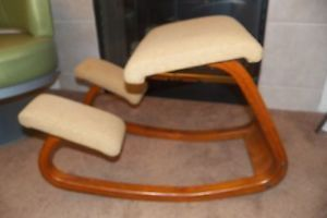 ergonomic chair norway sling folding chairs kneeling danish wood