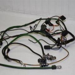 1969 John Deere 140 Wiring Diagram Vw Beetle 1973 Tractor 3 Point Hitch Lawn Garden Harness W Battery Starter Cables