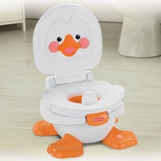 fisher price duck potty chair hanging egg with stand uk by ducky fun 3 in 1 training new specialty chairs