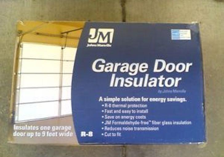 Johns Manville R 8 Garage Door Insulation Panel Kit