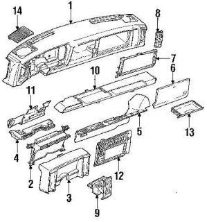 81 87 Chevy GMC Truck 81 91 K5 Blazer Jimmy Suburban