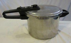 Tefal Sensor Pressure Cooker 6 4 Quart Stainless Canning Steamer Kitchenware