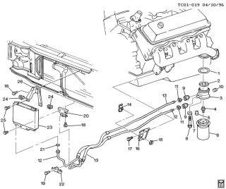 Transdapt Oil Cooler Adapter