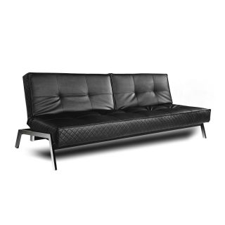 tomas fabric sofa chaise convertible bed dark java and chair company opening hours sofas beds thomas black leather euro lounger