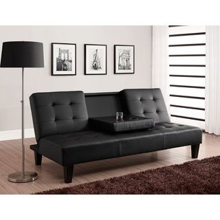 atherton home soho convertible futon sofa bed and lounger how to get rid of damp smell from leather julia cup holder