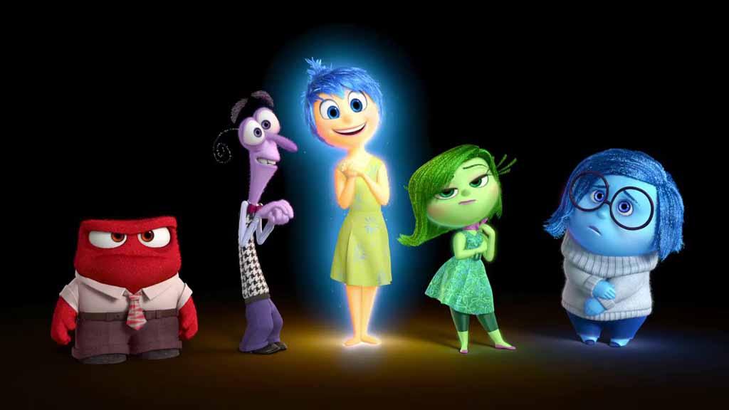 Inside Out, personaggi