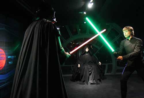 Luke, Vader e Palpatine