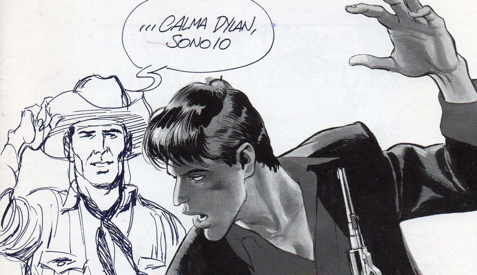 Tex Willer incontra Dylan Dog
