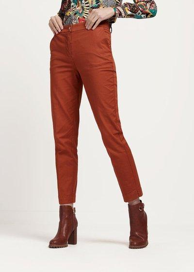 Pantalone modello Alice colore cannella - Cannella - Immagine categoria