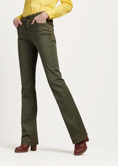 Pantalone modello Cindy colore timo - Timo - Immagine categoria