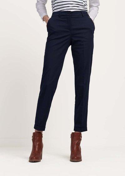 Pantalone modello Bella in cotone - Blu - Immagine categoria