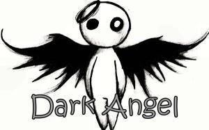 angel dark roses deviantart fire circle