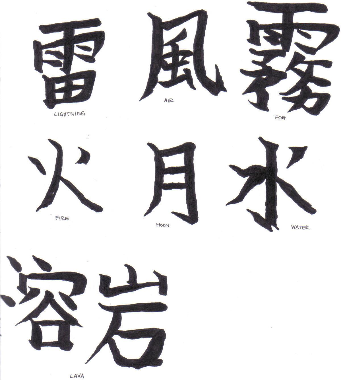 Related Keywords Amp Suggestions For Japanese Kanji For Thunder
