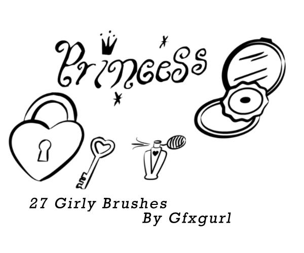 Girly Brushes. by gfxgurl on DeviantArt