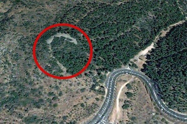 Imagen del monumento hallado en Israel