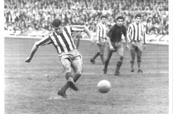 El Malmö fue el primer club que visitó el Vicente Calderón en la Copa de Europa 1