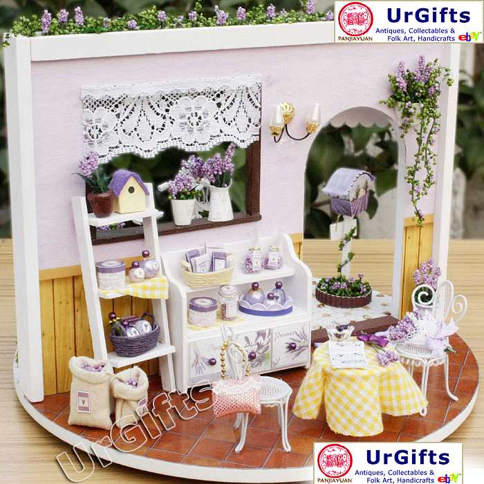 Dollhouse Miniature Diy Kit With Cover Romantic Love