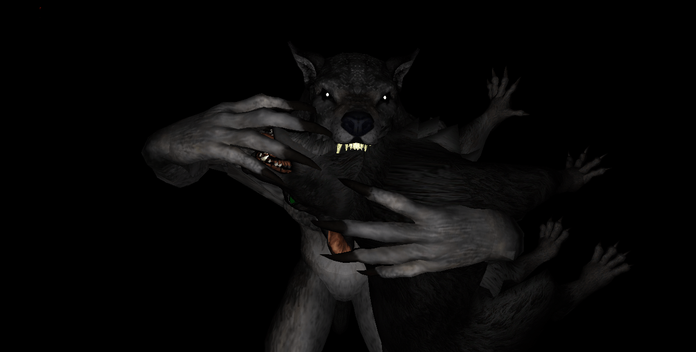 MMD Newcomer Skyrim Werewolves  DL by Valforwing on