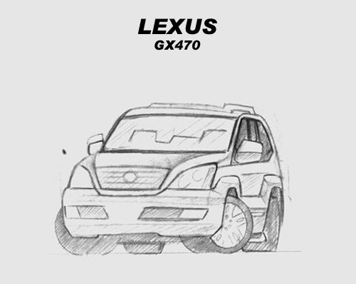 Chibi Lexus GX470 sketch by CGVickers on DeviantArt