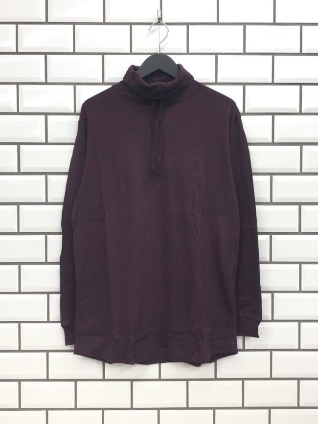 ionoi|TORTOISE NECK L/S #PURPLE