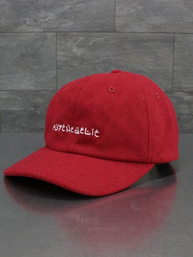 HOLE AND HOLLAND|PSYCHEDELIC WOOL CAP #RED