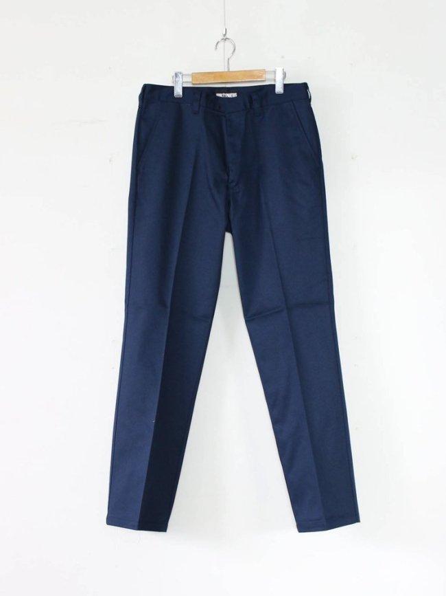 WACKO MARIA TWILL SKATE PANTS (TYPE 1) #NAVY [GP-104-A-BLANKLINE-ZACK-01]