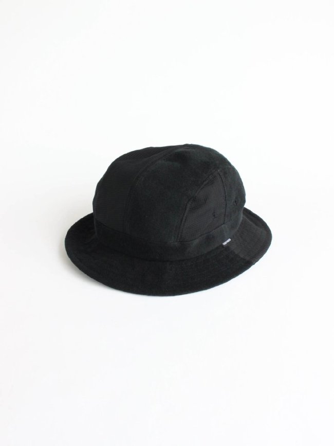 TIGHTBOOTH PRODUCTION|AERO PILE HAT #BLACK [SS20-H09]