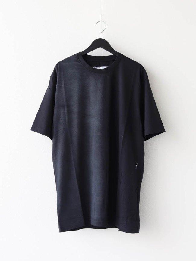 C2H4|SPRAYED T-SHIRT #BLACK [R002-052]