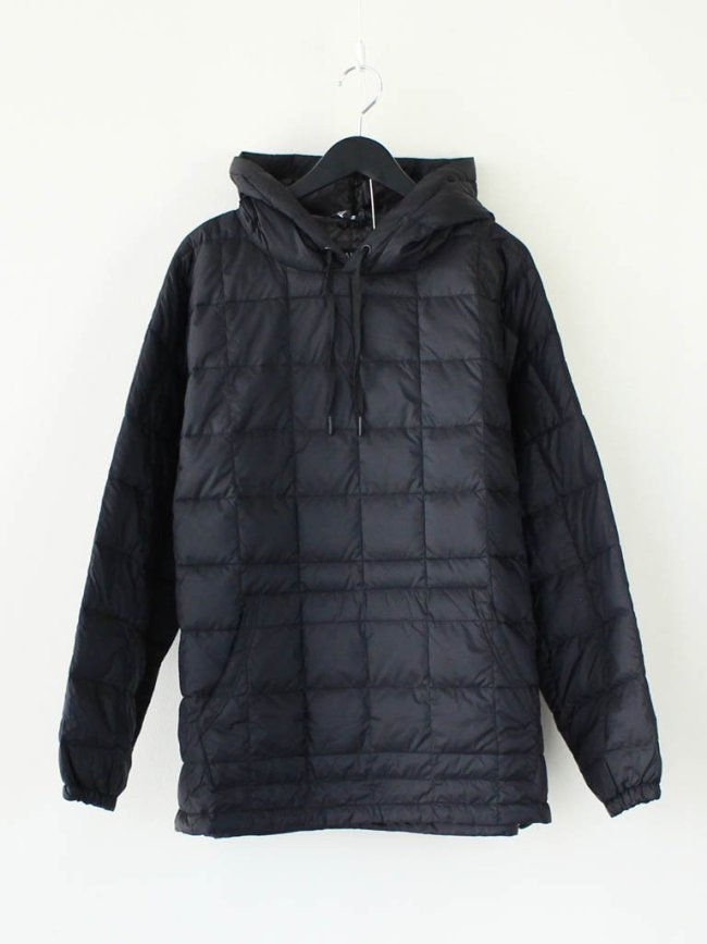 TAION|OVER SIZE DOWN PK #BLACK [TAION-106OS]
