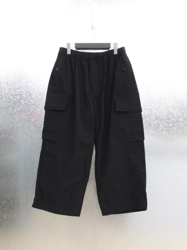 DAIWA PIER39 TECH WIDE 6P PANTS -RIP STOP- #BLACK [BP-32021W]