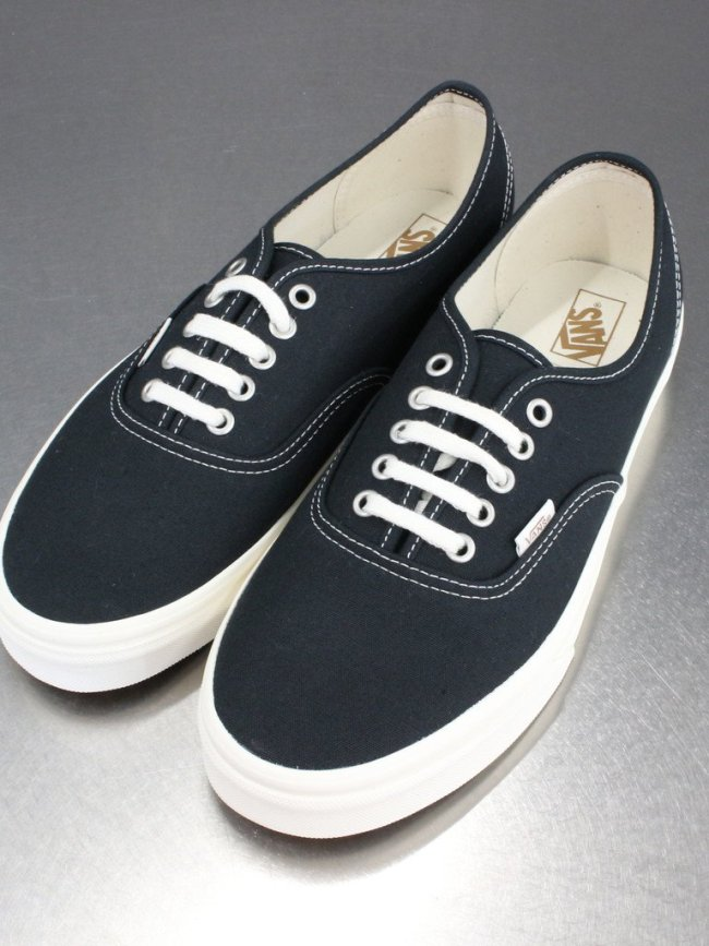 VANS AUTHENTIC (ECO THEORY) #BLACK/NATURAL [VN0A5HZS9FN]