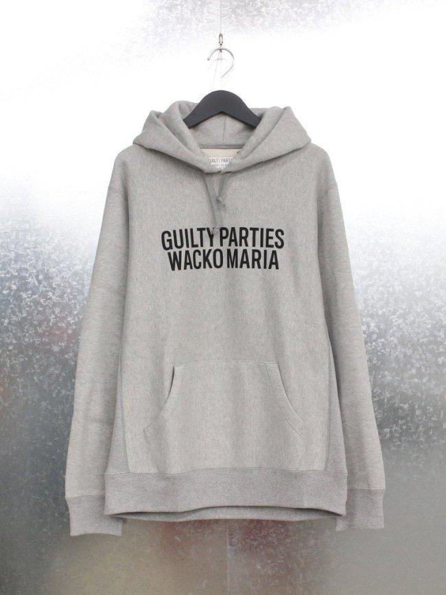 WACKO MARIA|HEAVY WEIGHT PULLOVER HOODED SWEAT SHIRT #GRAY [21FWE-WMC-SS03]
