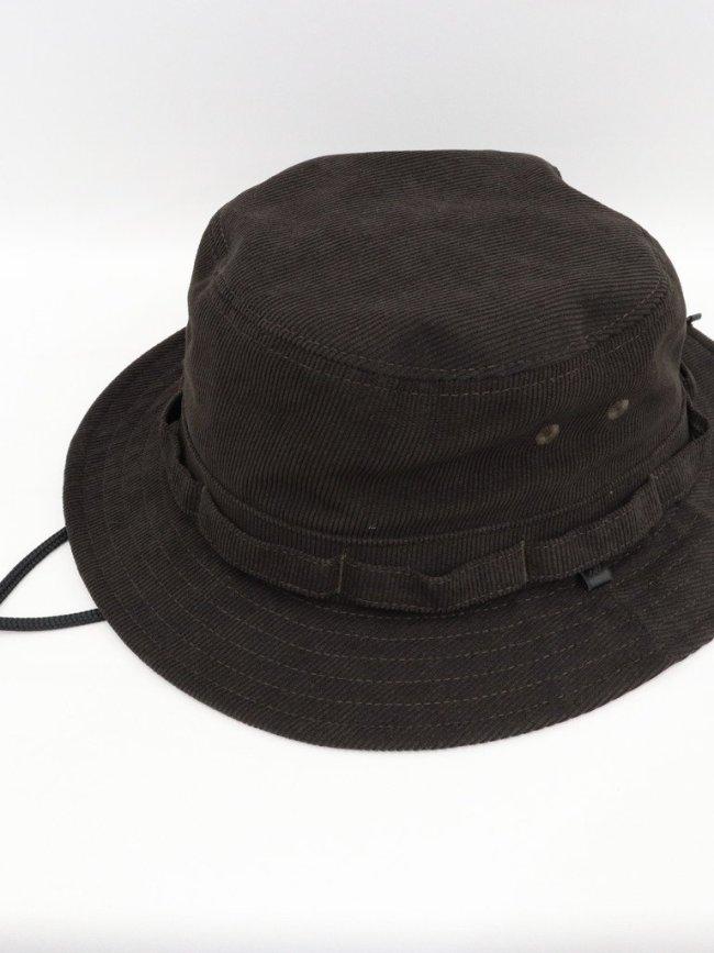 DAIWA PIER39 TECH JUNGLE HAT CORDUROY #BROWN [BC-54021W]