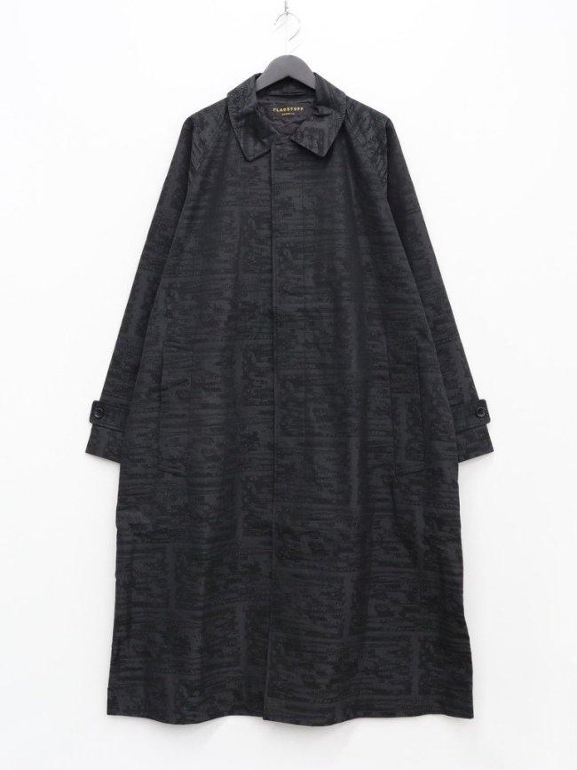 F-LAGSTUF-F TWO DOLLARS LONG COAT #BLACK [21AW-FS-KK-01]