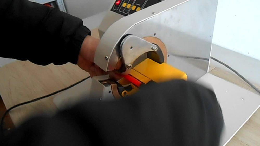 medium resolution of automatic corrugated hose tape winding machine automotive wiring harness wrapping tape machine