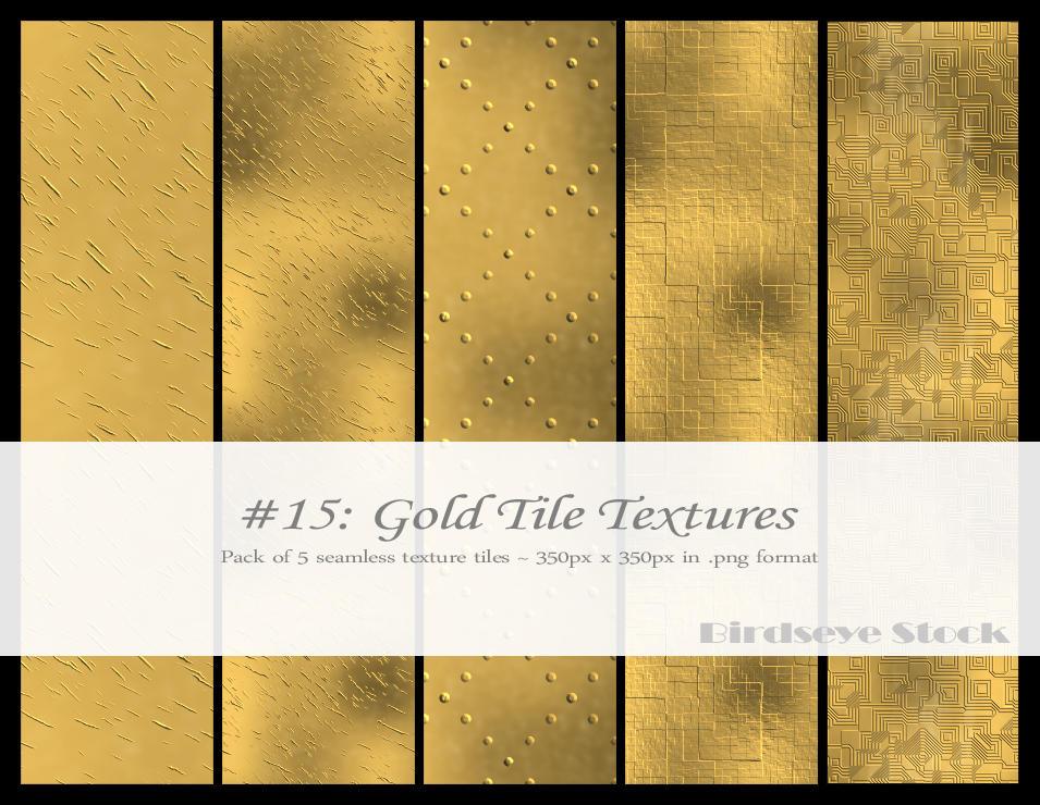 Gold Tile Textures By BirdseyeStock On DeviantArt
