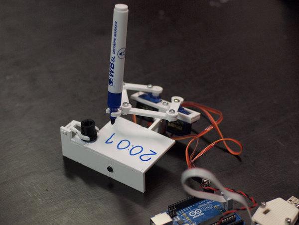 正德的一天: Arduino 作品參考(寫時間機器人)