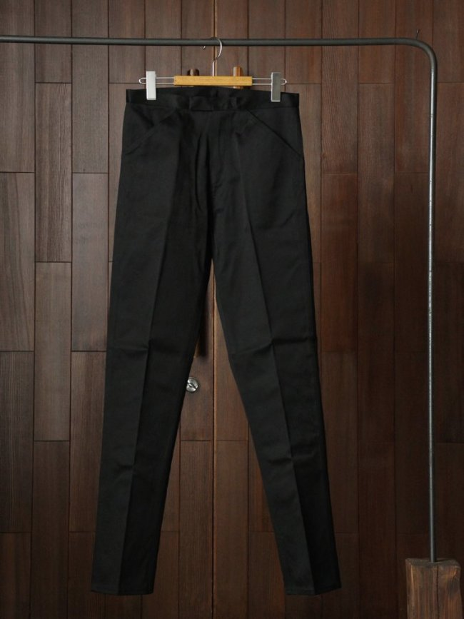 ANATOMICA McQueen PANTS TWILL #BLACK