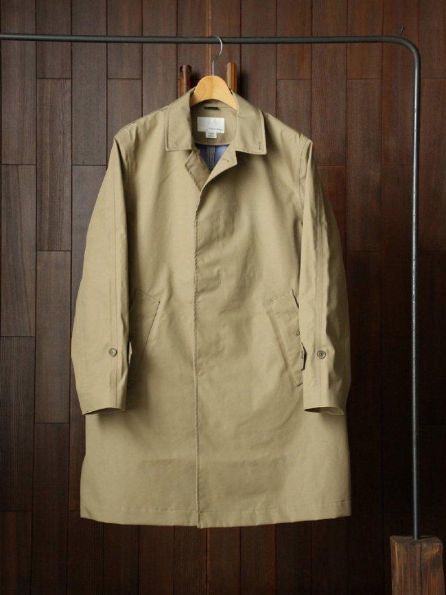 nanamica GORE-TEXR Soutien Collar Coat #BEIGE