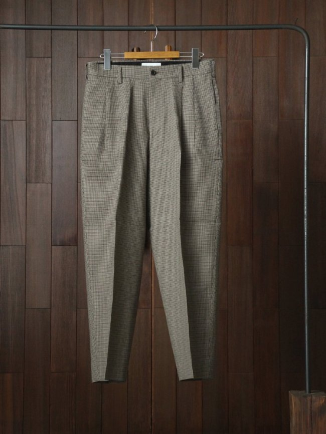 marka|2TUCK COCOON FIT #OLIVE