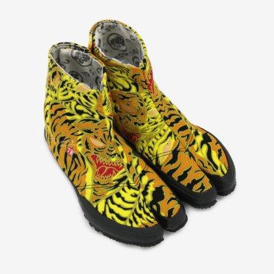 貼付地下足袋/yellow tiger