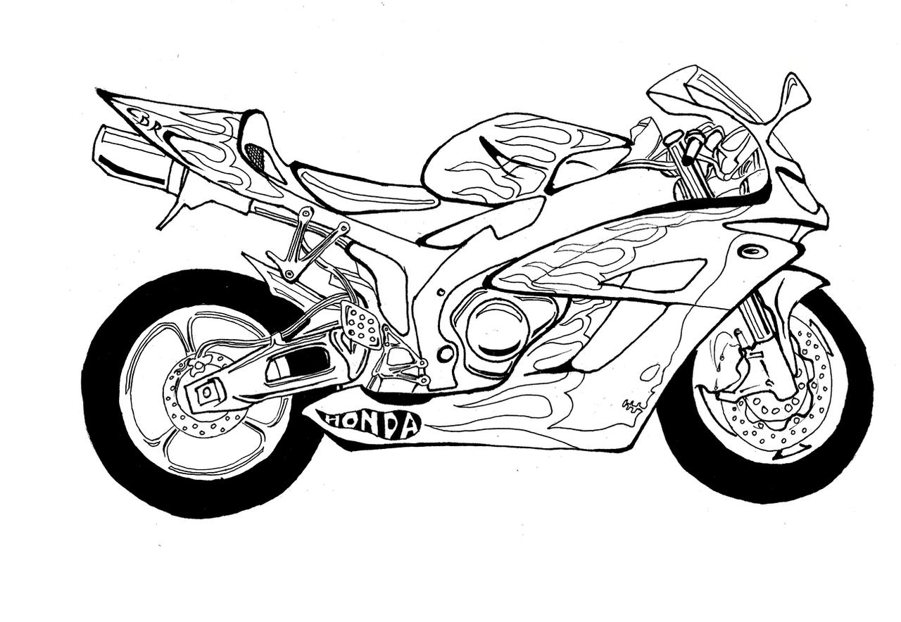 Honda CBR 1000RR by Micro-bullet on DeviantArt