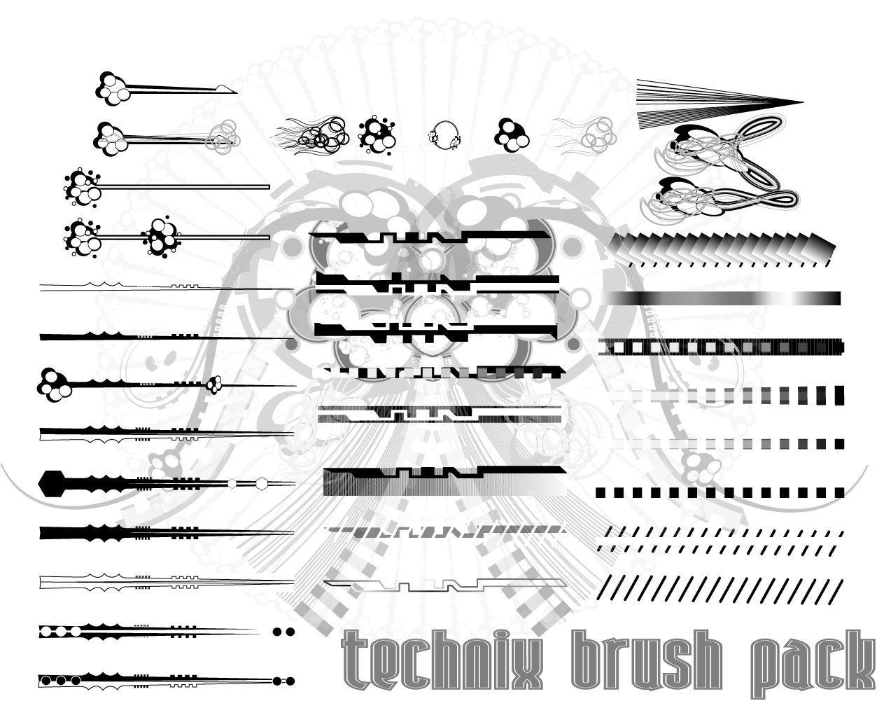 technix brush pack by r2010 on DeviantArt