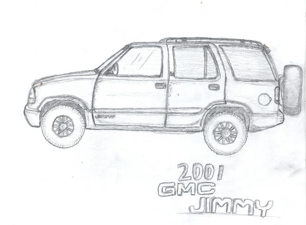 2001 GMC Jimmy by Beretta-DarkWolf on DeviantArt